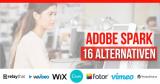 16 Adobe Spark-Alternativen 2021 für Grafiken, Webseiten und Video