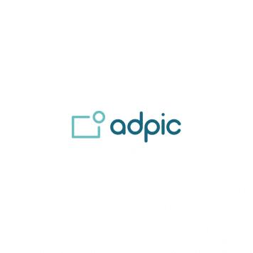 adpic Logo Weiß