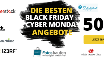 Black Friday 2020 & Cyber Monday 2020: Alle Stockfoto Angebote im Überblick