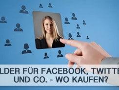 Bilder für Facebook, Twitter und Co. – Wo kaufen?