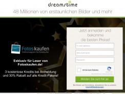 Dreamstime – 3 Credits kostenlos