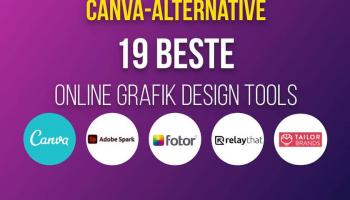 Canva-Alternative – 19 beste Online Grafik Design Tools!