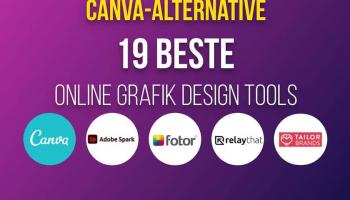 Canva-Alternative – 19 beste Online Grafik Design Tools!
