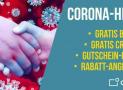 Corona-Hilfe: Kostenlose Bilder & Credits, Gutscheine und Rabatt-Angebote!