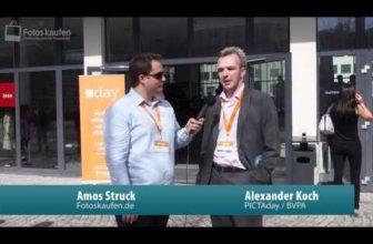 Interview mit A.Koch Geschäftsführer der BVPA auf dem PICTAday 2014