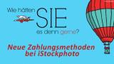Neue Einzelpreise bei iStockphoto – Bilderkauf ohne Credits ab sofort möglich