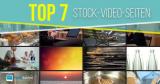 Top 7 Stock-Video-Seiten, um Videoclips zu kaufen
